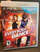 Everybody Dance 2 (Sony Playstation 3, 2012) PS3 Factory Sealed