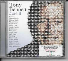 CD ALBUM 17 TITRES--TONY BENNETT--DUETS II