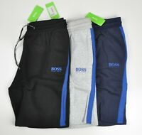 HUGO BOSS Logo French Terry Cotton Shorts For Men