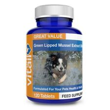 More details for green lipped mussel for dogs and cats 500mg - formulated for your pets health...