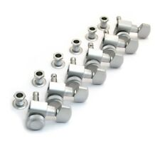 Schaller Satin Chrome LOCKING 6 Inline Tuners for Strat/Tele® Guitar TK-0974-011