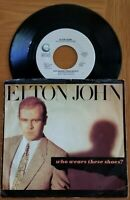 """Elton John....""""Who Wears These Shoes? & Lonely Boy"""" 45 RPM 7"""" Vinyl Record"""