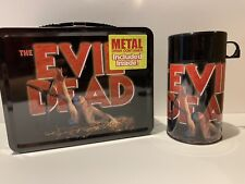 THE EVIL DEAD 2001 Limited Edition Black Metal Lunch Box #4575 / #5000 NECA RARE