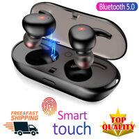 2020√TWS4 Bluetooth 5.0 Earbuds Wireless Headphones Earphones For iphone Android
