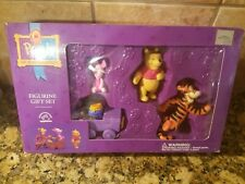 Pooh, Piglet & Tigger PVC Figurine Gift Set Winnie the Pooh Applause Interactive