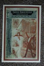 Robert Houdin magician poster #1 1885 Prestidigitation