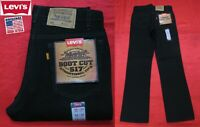 NEW VINTAGE LEVI'S 517 BLANK ORANGE TAB BOOT CUT TRADITIONAL FIT JEANS USA 30x32