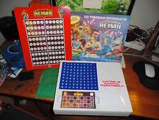 LA TOMBOLA SPAZIALE DI HE-MAN Motu Mastersa of the Universe NUOVO Bingo VINTAGE