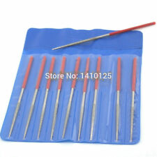 "10Pcs 4"" inch 100 MM x2 MM ROUND Diamond Coated Needle Saw Files Filing Cutting"