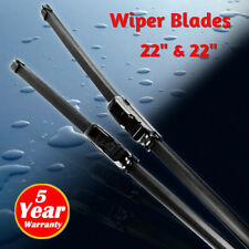 "22""+22"" Windshield Wiper Blades High Quality Beam Premium Hybrid silicone J-Hook"