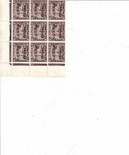 MALAYA - SELANGOR - MNH - #N33 -  Block of 9 - Japanese Occupation