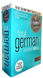Michel Thomas Method Audio Book Total German for Beginner CD Collection Box Set
