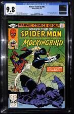 Marvel Team-Up #95 CGC 9.8 1st appearance of Mockingbird