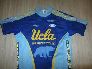 UCLA Bruins Bike Bicycle Cycing Jersey Voler Baby Blue NCAA College XL Rare