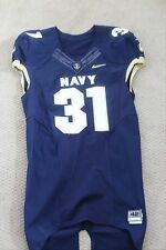 Authentic Player Issued Nike Elite Navy Midshipmen Football Jersey size 42
