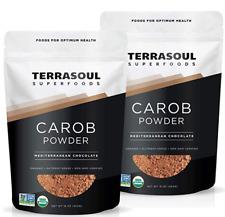 Best Organic Carob Powder 2 Lbs 2 Pack Cocoa Powder Alternative High Fiber