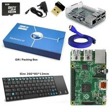 Maker Sphere Raspberry Pi 3+ Model B Kit + Mini Wireless Keyboard + White Close