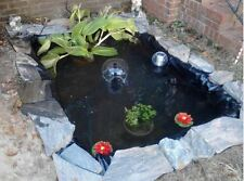 Backyard Pond Kit In Ground Water Liner Fish Garden Zen Koi Pool Patio Small