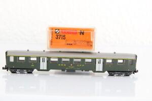N ARNOLD 3715 SBB  1.Klasse Leichtstahl  Personenwagen coach OVP J55