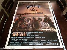 SUPERMAN II Christopher Reeve Original 1981 1Sheet Movie NSS Poster 27x41 Folded