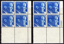 (2) PLATE BLOCKS of 4 #1770 ROBERT F KENNEDY 15c (1979)