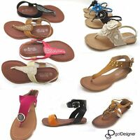 NEW Women's Shoes Summer Beach Hot Sandals Open Toe Comfort Casual Strap Floral
