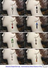 Made Peruvian Jewelry Peru 20 Long Exotic Earrings Hand