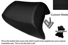 BLACK STITCH CUSTOM FITS SUZUKI GSF 1250 07-12 BANDIT REAR LEATHER SEAT COVER