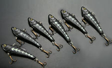 LOT 6 Fishing Crankbait Lure Bait Hook   7.7g/7cm