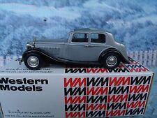 1/43 Western models  (England)  Bentley 1936 4 1/2 Mulliner Pillarless