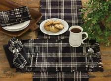 Placemat - Black Coffee by Park Designs - Kitchen Dining Black Tan