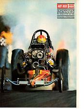 1970 TOP FUEL DRAG RACING / BILL TIDWELL ~ ORIGINAL MAGAZINE PHOTO / PICTURE