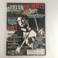 Modern Drummer Magazine June 2005 Jon Theodore & Carl Palmer & Larry Mullen Jr.