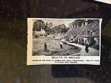 A1u ephemera 1952 picture mill stream arlington row bilbury gloucs m wright