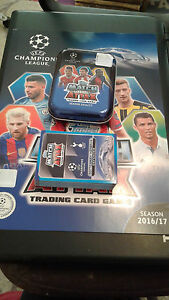 Match Attax Champions league 2016/17 Mini Tin  with 80 cards
