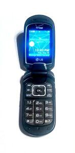 LG LG-VN150S Revere 2 Gray Verizon Flip Cellular Phone  Super Fast Shipping