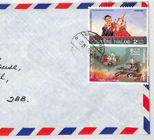 BT147 Thailand Bangkok Commercial Air Mail Cover {samwells}PTS