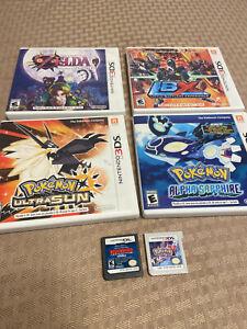 Nintendo 3ds and ds Six Games Lot Bundle