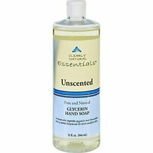 Clearly Natural Liquid Glycerine Hand Soap Unscented Unscented 32 Oz, 2 Pack