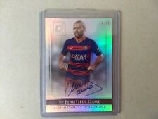 ⚽PANINI DONRUSS JAVIER MASCHERANO AUTO AUTOGRAPH CARD /99 BEAUTIFUL GAME⚽BARCA