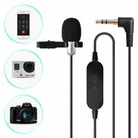 Lavalier Microphone Enhanced Audio Amplifier Lapel Clip-on Mic for phones Gopro