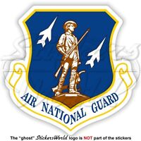 US AIR NATIONAL GUARD Shield USA AirForce USAF ANG Emblem American Sticker Decal
