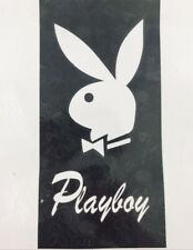 Authentic Playboy Bunny Beach Towel Black & White Cotton 30X60.Sealed In Plastic