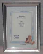 """Vintage M.I. Hummel 8"""" X 10"""" Silver Frame 5"""" X 7"""" Photo Picture Size New In Box"""