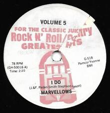 """Marvelows / Conway Twitty """" I Do / Lonely Blue Boy """""""