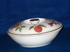 """ROYAL WORCESTER  EVESHAM  GOLD SMALL 7""""  COVERED SERVING BOWL"""