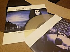"Dead or Alive Mad Bad and Dangerous to Know LP 12"" Clear Vinyl Record Pete Burns"