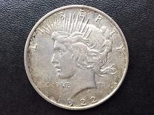 1922-D Peace Silver Dollar U.S. Coin A1901