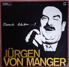 Jürgen von Manger - Mensch bleiben... - LP - D 1965 - Vinyl Mint-