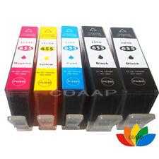 5PK, Imprimante Cartouche pour Compatible HP 655 655XL hp655 Deskjet 4615 3520